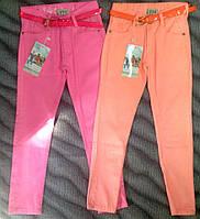 Катоновые штаны для девочек.На рост 110-116см