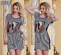 Платье турецкое летнее № р 2858  (Гл)