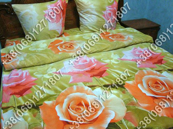 Постельное белье ранфорс - семейный комплект (0721), фото 2