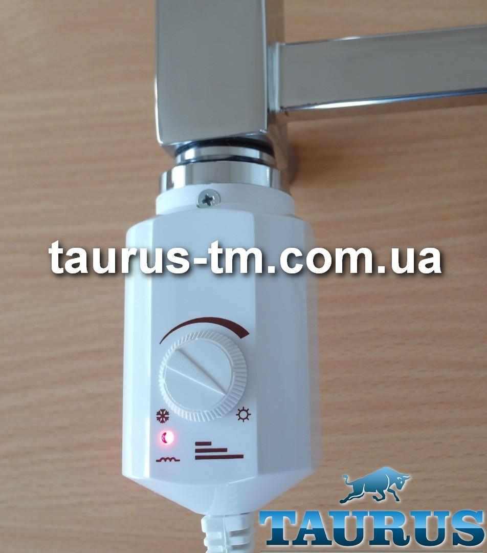 """ЭлектроТЭН белый Volux: регулятор от 13 до 65С для полотенцесушителя. Польша. Мощность: 300-600Вт. резьба 1/2"""""""