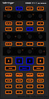 DJ контроллер BEHRINGER CMD DV-1