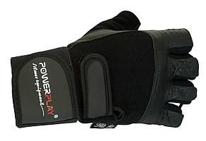 Перчатки атлетические PowerPlay мужские без пальцев