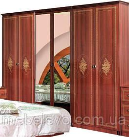Шкаф Роза 6Д 2250х2670х520мм  снято с производства  Мебель-Сервис