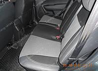 Чехлы на сиденья Киа Соренто 2 (чехлы из экокожи Kia Sorento 2 стиль Premium)