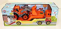 Автовоз с трактором 3916 Технокомп