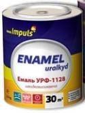 Эмаль УРФ-1128 Серая RAL-7004