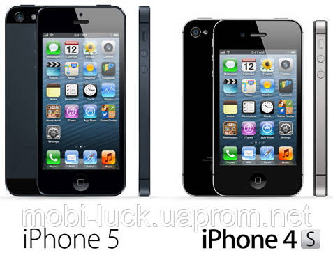 В чем разница между Iphone 4S(4) и  Iphone 5?