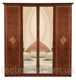 Шкаф Роза 4Д 2250х1780х520мм  снято с производства  Мебель-Сервис