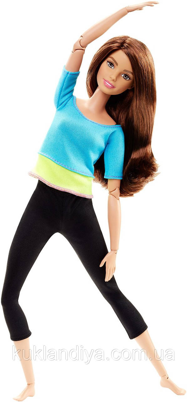 Кукла Barbie Йога Шатенка Безграничные движения - Made to Move