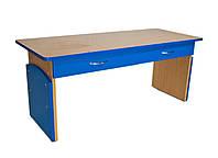 Детский стол регулируемый 2-х местный с ящиками