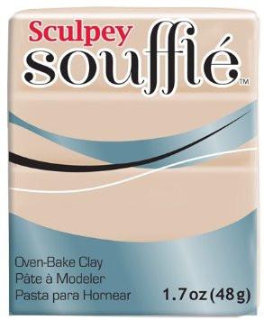 Новинка! Полимерная глина Sculpey Souffle Скалпи Суфле, Замок из песка, 6093