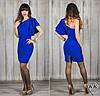 Платье 15538, цвет электрик
