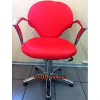Кресло клиента на гидравлической помпе ZD-338, красное