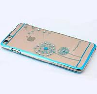Чехол-бампер Flower Blue для Apple iPhone 6/6s, фото 1