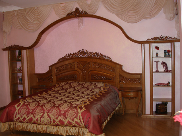 Элитные кровати деревянные под заказ. Наше производство. (дуб,ольха,ясень) Гарантия 10 лет