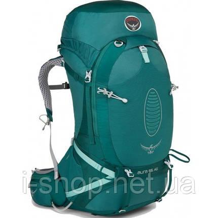 Рюкзак женский OSPREY AURA AG 65L (бирюзовый), фото 2