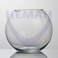 Ваза шар стеклянная 140мм 6401.21