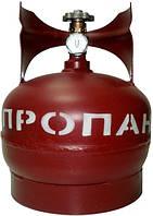 Баллон для сжиженных углеводородных газов 5 л (Пропан, бутан, МАФ), (г. Севастополь)