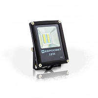 Светодиодный прожектор EVRO LIGHT EV-10-01, 10W, 220V, IP65, Standart, 700Lm, 6400K белый холодный, фото 1