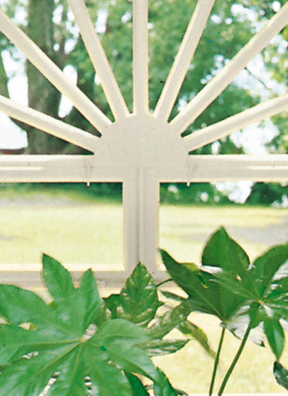 Фотообои бумажные на стену 183х254 см 4 листа: Вид из окна Зимний сад  3