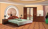 Спальня Роза комплект 4Д  снято с производства  Мебель-Сервис