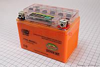 Аккумулятор 4Аh YTX4L-BS (гелевый, оранж) 113/70/85мм с ИНДИКАТОРОМ 2015, от 10шт -3%