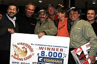 Команда Salmo-Angler Ukraine - Чемпионата Европы по ловле щуки в 2010 году, в Вастервике (Швеция)