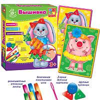 Вышивка Лентами Зайка VT4701-01 Vladi Toys