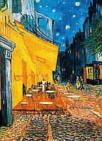 Фотообои бумажные на стену 183х254 см 4 листа: Ночная терраса кафе