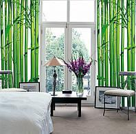 Фотообои бумажные на стену 183х254 см 4 листа: природа Бамбук