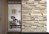 Фотообои бумажные на стену 183х254 см 4 листа: Кафе