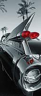 Фотообои бумажные на дверь 86х200 см 2 листа: Машина классика  №551