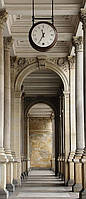 Фотообои бумажные на дверь 86х200 см 2 листа: Пассаж Арка