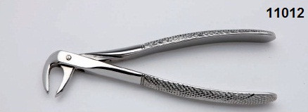 Щипцы экстракционные для корней нижних зубов №74 NaviStom