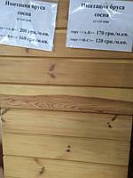 Имитация бруса сосна 135*32 мм, сорт АВ