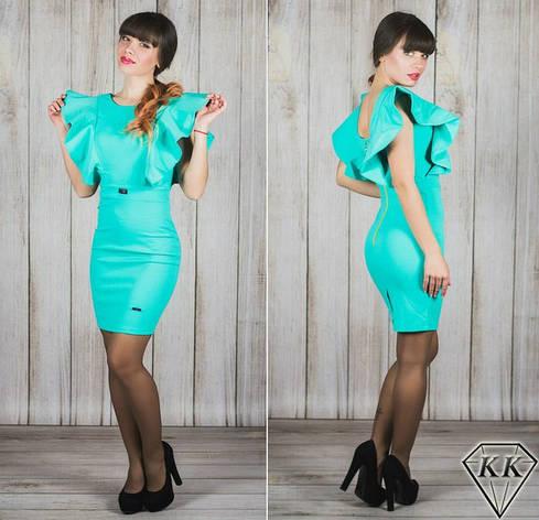 Ментоловое платье 15541, фото 2