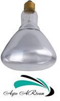 Лампа инфракрасная 150 Вт белая , закаленное стекло