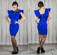 Платье 15541, цвет электрик