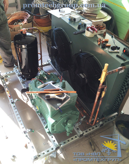 ремонт холодильного агрегата марки Bitzer