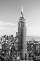 Фотообои бумажные на стену 115х175 см 1 лист: город Нью-Йорк, Эмпайр Стейт Билдинг