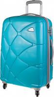 Яркий дорожный 4-х колесный чемодан 30 л CARLTON Reef 241J455;91 бирюзовый