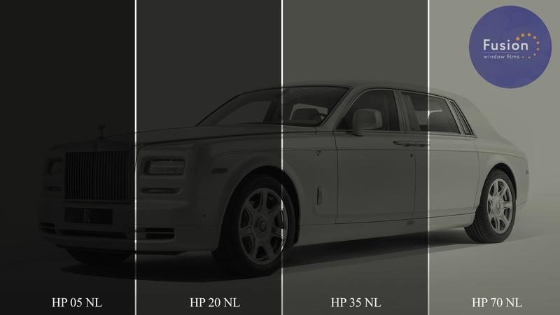 Тонувальна плівка Fusion HP 20 NL чорна металізована
