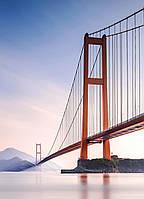 Фотообои флизелиновые на стену 183х254 см 4 листа: Мост Сихоумэнь в Китае  №862
