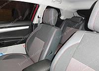 Чехлы на сиденья Киа Про Сид 1 хэтчбек (чехлы из экокожи Kia Pro Ceed 1 стиль Premium)