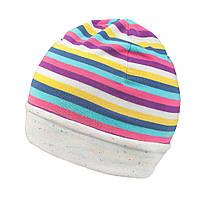 Демисезоная шапка двухсторонняя TuTu арт. 3-003102(48-52, 52-56)