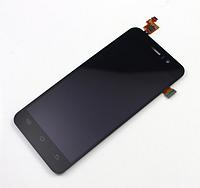 Оригинальный дисплей (модуль) + тачскрин (сенсор) для Jiayu G4 (черный цвет)