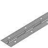 Петля 3020 рояльная стальная оцинкованная полка 20*20мм сталь 1,5мм