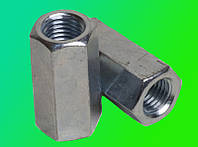 Гайка М5 соединительная удлиненная DIN 6334