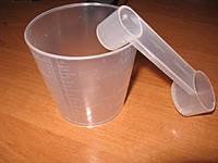 Мерный стакан 300ml для хлебопечки + ложка Vinis