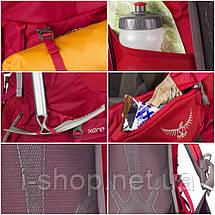 Рюкзак жіночий OSPREY XENA 85 WOMENS (синій, червоний), фото 3